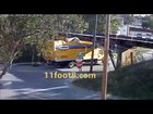 truck accident | top m crash with bridge