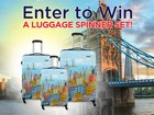 Beach Camera is giving away a Samsonite Luggage Spinner Set! 5/31