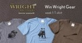 Win a Wright Brothers T-Shirt (08/26/15)