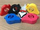 My self made 3D printed Pokémon go plus casing with auto catch function when casing close.. which color look nicer?