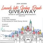 Win a $500 Visa Gift Card, 4x 2 Day Disney World or Land Park Hopper Tickets, 3 night hotel accommodations {US} (01/13/2019)