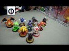 Charizard, Sonic, Lucina, Robin, Inkling Squid, Inkling Boy, Inkling Girl, Pac-Man, Toad & custom Evilos Pikachu amiibo Giveaway!