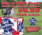 Win A PBR Tent {US} (09/30/2017)