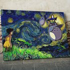 Enter for a chance to win Ghibli Starry Night Totoro Canvas $500 Value OR a $50 Anime Ape Gift Card OR a $20 Anime Ape Gift Card. Multiple Winners! Weekly Draws! {??} (07/06/2019)