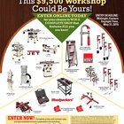 2016 Popular Woodworking Workshop Makeover Giveaway
