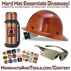Win a Hardhat Essentials package including Skullgard Hardhat, Safety glasses and tumbler {US} (09/03/2018)