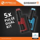 Win 1 of 5 Vandy Vape Pulse Dual Kit (12/06/2018) {WW}