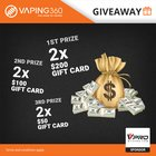 $700 MyVpro Gift Card Giveaway (09/20/2018){??}