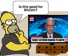 What crypto investors think when they watch the news…