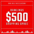 Win a Rawlings $500 Shopping Spree 11/24 {US}