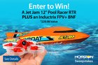 Inductrix FPV+ drone & Jet Jam RC Boat Sweepstakes {US CA} (02/20/2018)