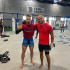 Ludovit Klein found a suitable sparring partner in Sanford MMA