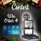 Win a 3d Ortur4 printer (12/25/2019) {??}