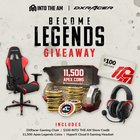 Enter to win a DXRacer gaming chair, HyperX Cloud II headset and 11,500 Apex Coins {??} (03/15/2019)