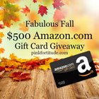 $500 Amazon gift card up for grabs (10/23/2018) {US}