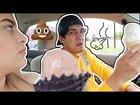 Fart Spray Prank on Boyfriend! *Hilarious Reaction*