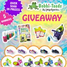 Bobbi-Toads Black Friday Giveaway. Win multiple pairs of light up, paintable kids' shoes!! {??} (11/29/2019)