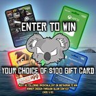 K.O. Koala Entertainment $100 Gaming Gift Card Of Your Choice Giveaway (Steam, Xbox, Nintendo, etc. ) (03/21/2020) {US} 2 days left!!!