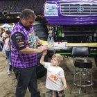 First Monster Jam with my 3yr old was a SUCCESS.