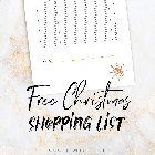 Grab a free printable Christmas shopping list + Enter for a chance to win $100 Nordstrom gift card