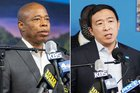 NYC mayoral candidates Adams, Yang clash over drug legalization