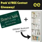 Win A FREE Gersby Bookcase + $50 Barnes & Noble Giftcard (11/30/2018) {US}