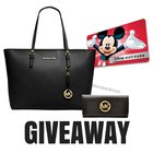 Win a $200 Disney Gift Card and Michael Kors Bag and wallet {WW} (8/30/2017)