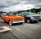 Two generations of Chevy. Ones way more impressive! (Hint - it's the 64!)