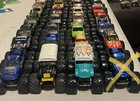 Huge lot of trucks with many rare finds
