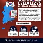 South Korea Legalizes Medical Cannabis (Infographic)