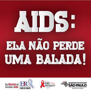 AIDS: Ela não perde uma balada!