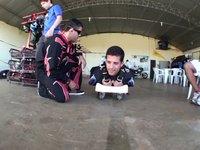 Salto Duplo Ricardo - www.mergulhonoceu.com.br - Paraquedismo