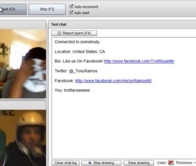Chatroulette Photograph Gay Chatroulette