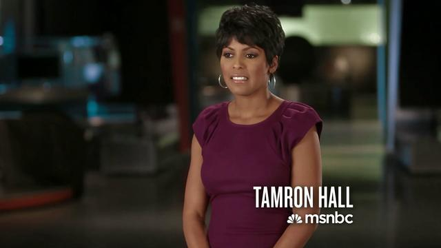 Tamron Hall Msnbc Married