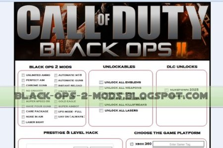 Bo2 Cheat Codes Xbox
