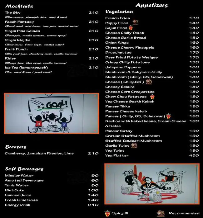 Menu 3 Wise Monkey