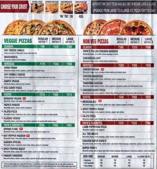 Buffet Pizza Places Near Me