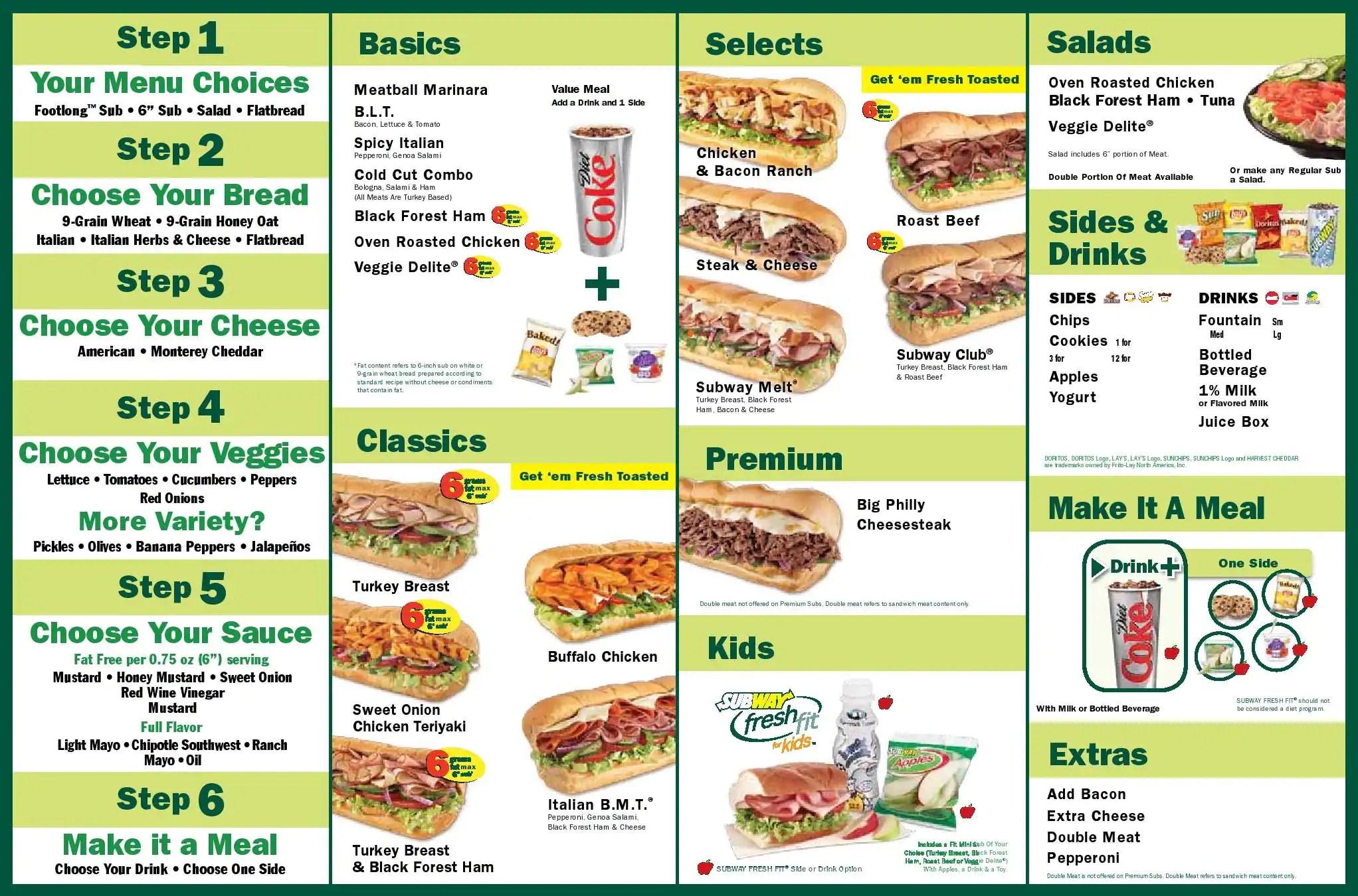 Bassel T S Math Blog Subway Sandwiches
