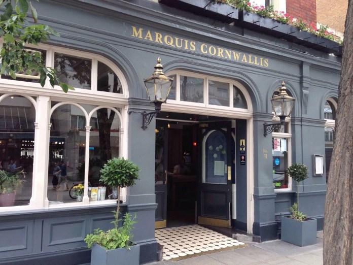 Risultati immagini per the marquis cornwallis russell square