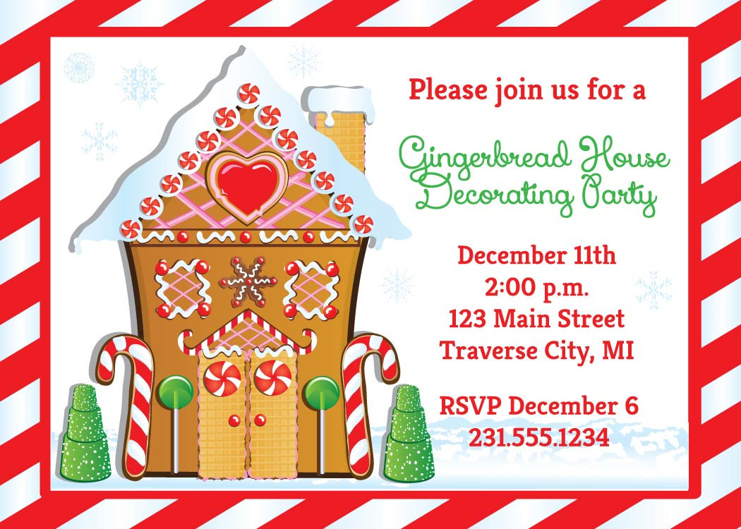 Christmas Cookie Decorating Invitation Wording