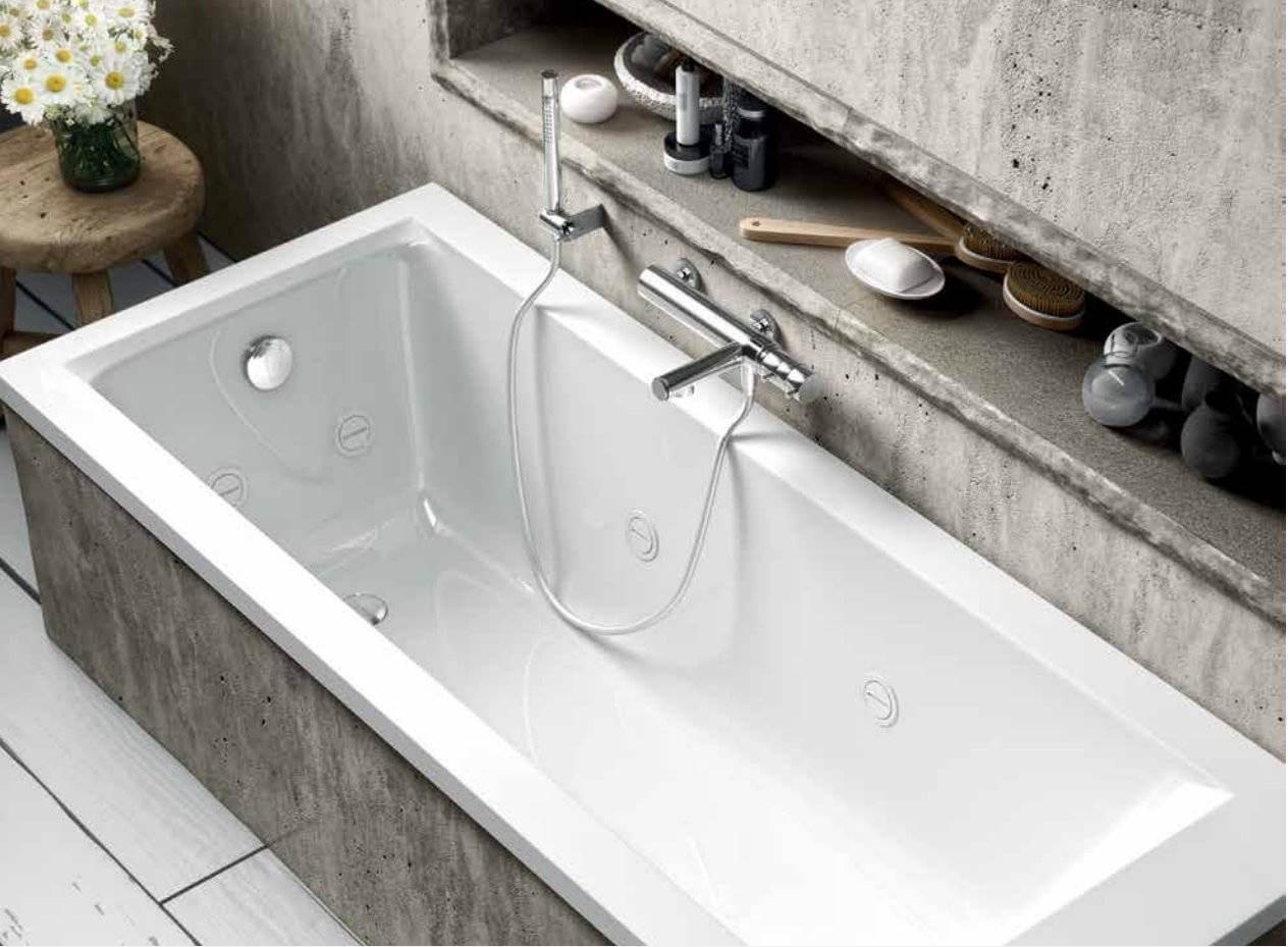 baignoire jazz s encastree 140 x 70 cm avec structure b10