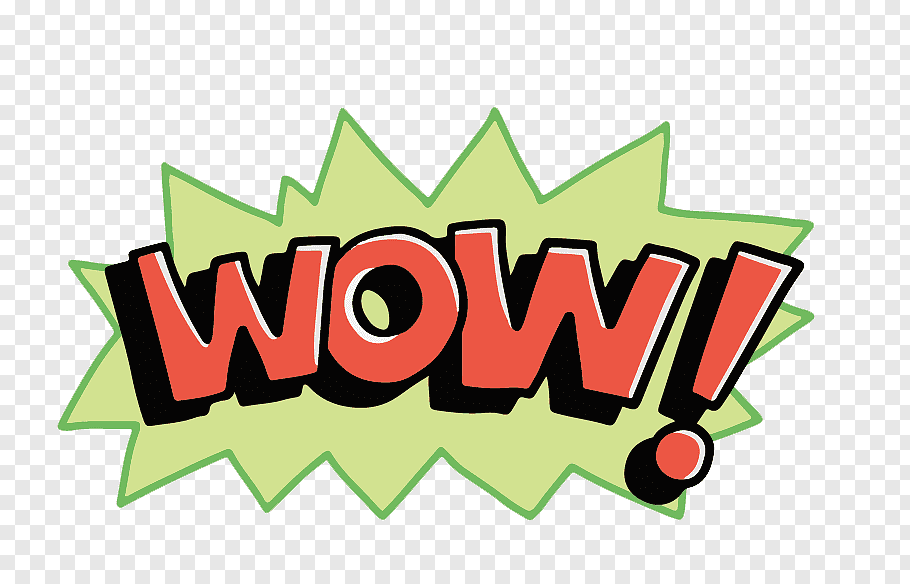 Comic Text Wow Text Overlay Png Pngbarn