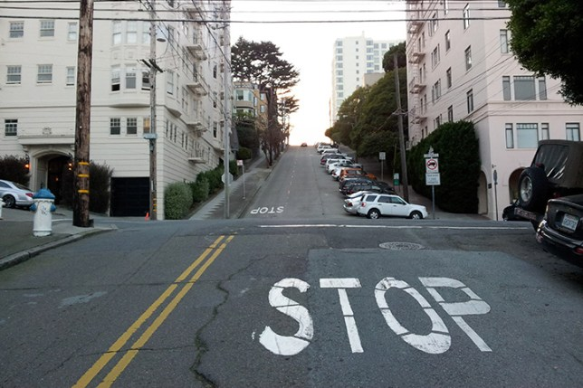 steep streets in San Francisco 8