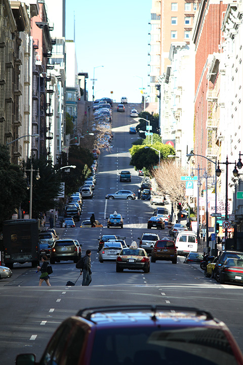 steep streets in San Francisco 10