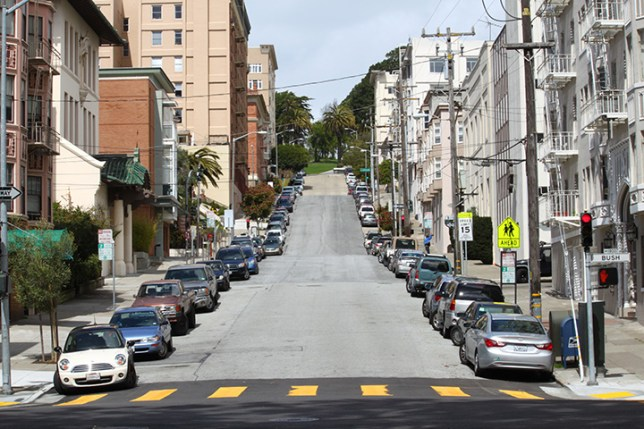 steep streets in San Francisco 12