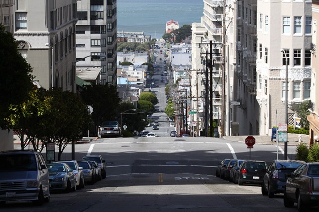 steep streets in San Francisco 6