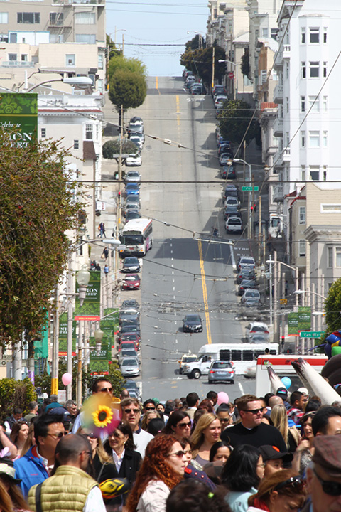 steep streets in San Francisco 15