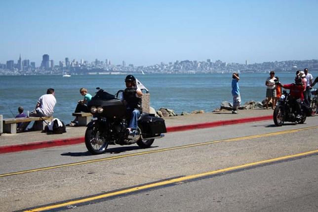 San Francisco view from Sausalito