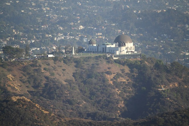 Griffith Observatory at Griffith Park in Los Angeles