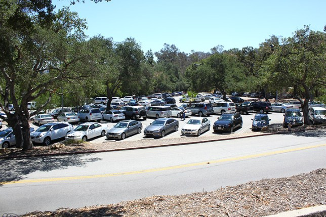 Parking at Griffith Park in Los Angeles